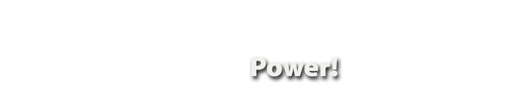 Remember Your Power!