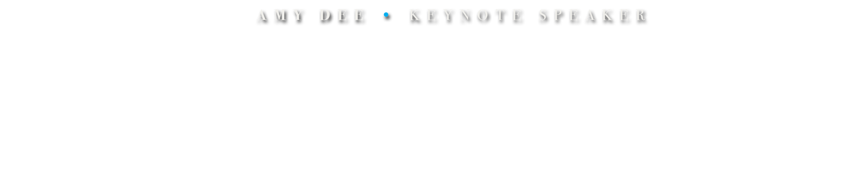Amy Dee Keynote Speaker